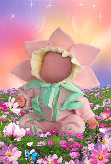 fondo para realizar un foto montaje con la carita de tu bebe