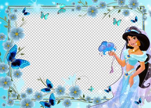 Marco Princesa Jasmine para que realices tu propio foto montaje ...