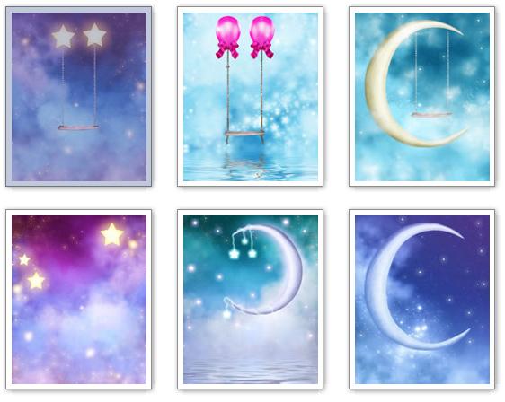 Fondos para Fotos de Lunas y Estrellas en Alta Calidad | Fondos para ...