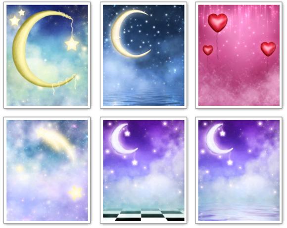 Marcos Para Fotos De Estrellas Y Lunas