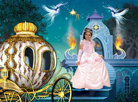 Fotomontaje de Cuento Infantil Cenicienta de Disney | Fondos para ...