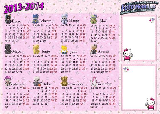 Hello Kitty Calendar