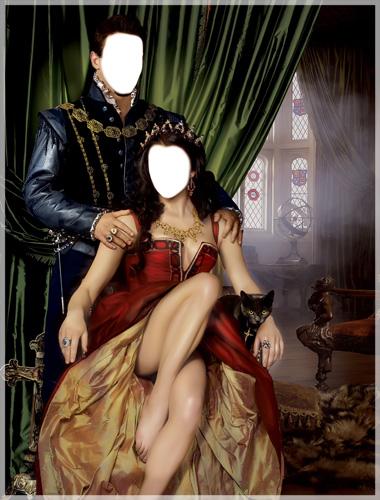 Descargar Fotomontajes Gratis de Los Tudor. Fotomontaje de Reyes .