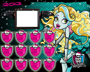 Calendarios Monster High 2013