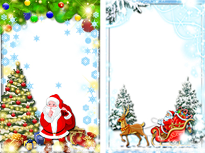 Marcos de navidad archives fondos para fotos y foto - Postales de navidad con fotos de ninos ...