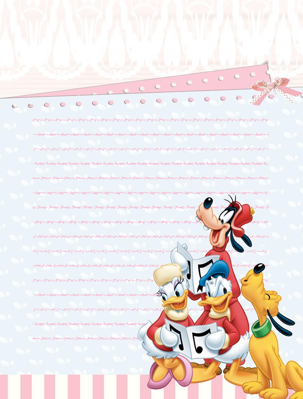 Invitaciones de Cumpleaños Disney Gratis - Fondos para Fotos y ...