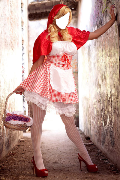 Angie Savage Red Riding Hood