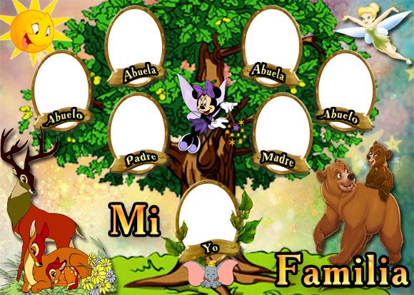Árbol Genealógico de tu familia.