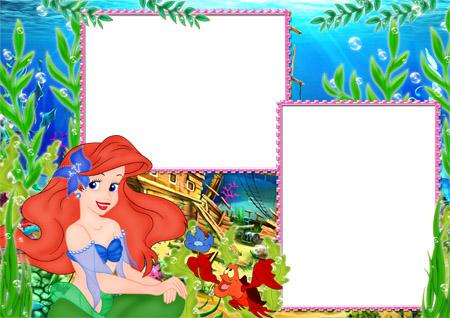 Marcos de princesas para fotos infantiles - Imagui