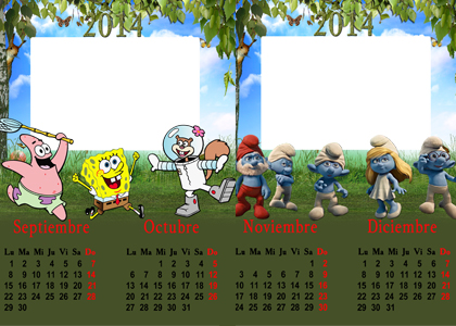 Calendario Infantil 2014