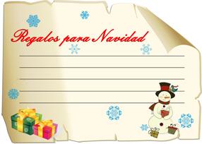 Manualidades digitales carta a papa noel 2013 fondos - Regalos para pedir en navidad ...
