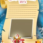Manualidades Digitales. Carta a Papa Noel 2013.